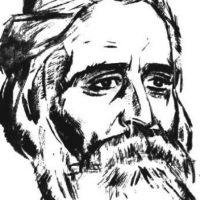 Portretul criticului Garabet Ibrăileanu realizat de Ştefan Dimitrescu. Sursă Wikipedia.