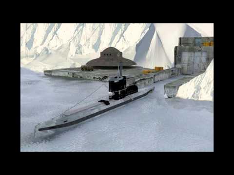 Agarta, baza secretă a extratereştrilor din interiorul Antarcticii