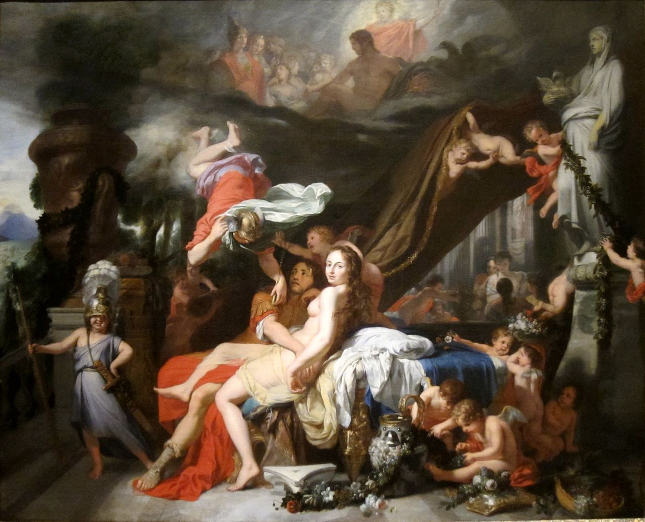 Hermes_Ordering_Calypso_to_Release_Odysseus'_by_Gerard_de_Lairesse,_c._1670